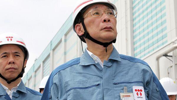 Kazuhiko Shimokobe, presidente de TEPCO - Sputnik Mundo
