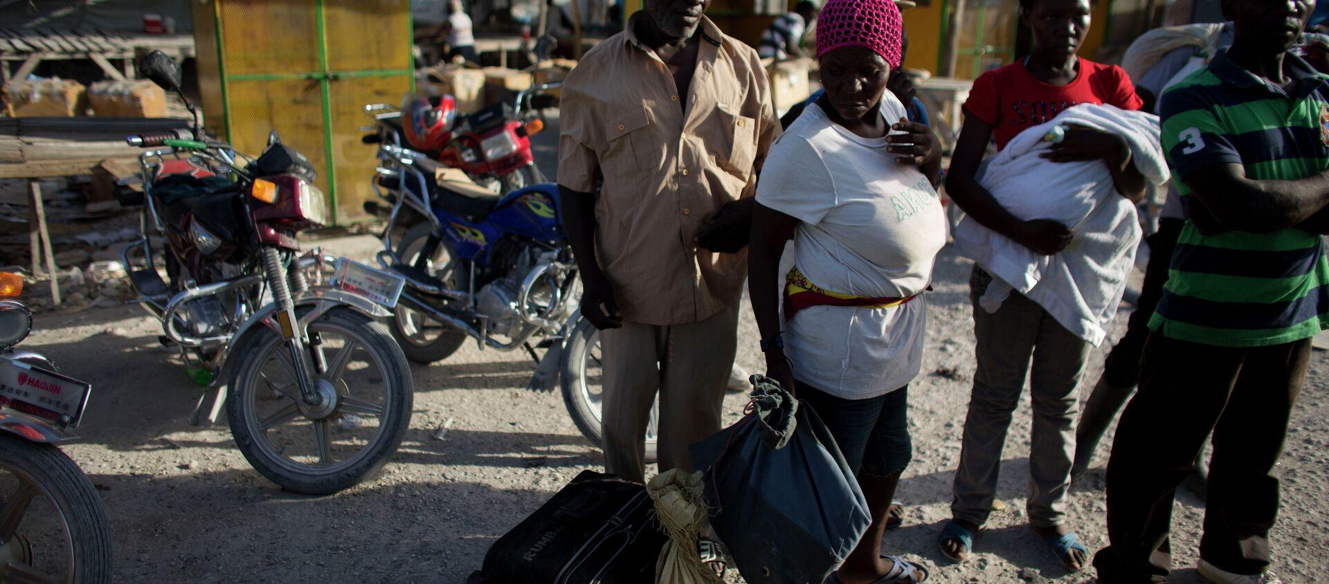 Migrantes haitianos deportados de la República Dominicana - Sputnik Mundo, 1920, 13.10.2020