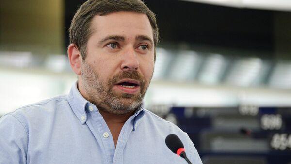 Javier Couso, eurodiputado español por Izquierda Unida - Sputnik Mundo