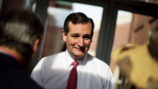 Ted Cruz, candidato republicano a la presidencia de EEUU - Sputnik Mundo