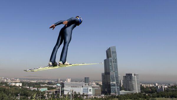 Centro de Saltos de esquí en Almaty - Sputnik Mundo