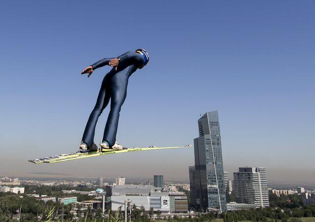 Centro de Saltos de esquí en Almaty