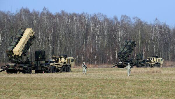 El sistema antimisiles Patriot en Polonia (Archivo) - Sputnik Mundo