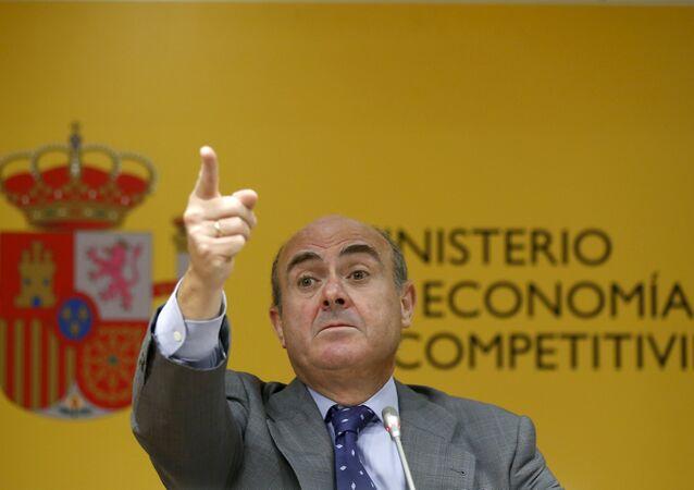 Luis de Guindos, ministro de Economía en funciones (archivo)