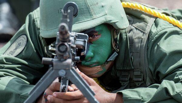 Soldado venezolano - Sputnik Mundo