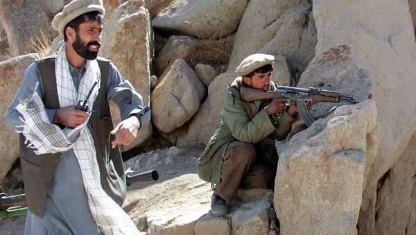 Insurgentes en Afgaanistán (archivo) - Sputnik Mundo