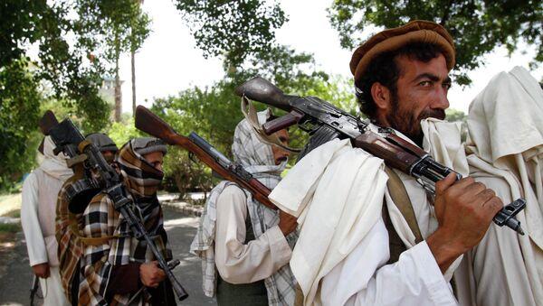 Talibanes afganos (archivo) - Sputnik Mundo