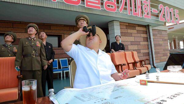 Kim Jong Un, líder de Corea del Norte (archivo) - Sputnik Mundo