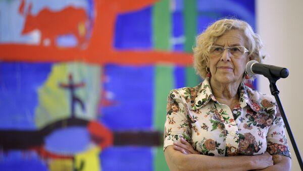 Manuela Carmena, alcaldesa de Madrid - Sputnik Mundo