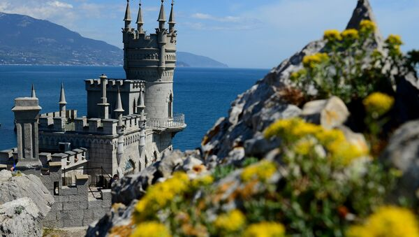 Castillo Nido de Golondrina en Crimea - Sputnik Mundo