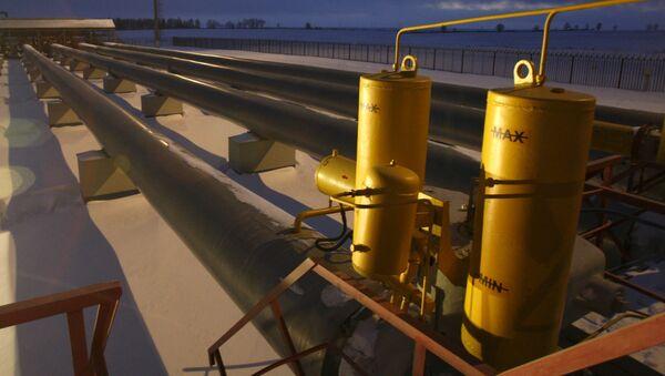 Gasoducto en Rusia - Sputnik Mundo