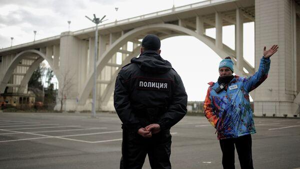 Policía en Sochi (Archivo) - Sputnik Mundo