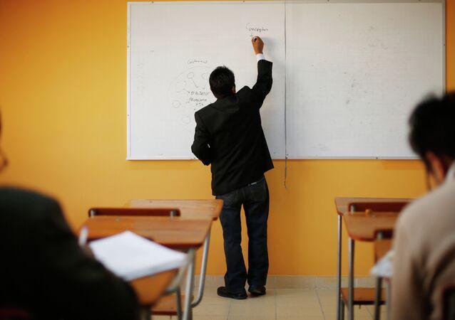 El curso en la universidad pública UMSA en La Paz