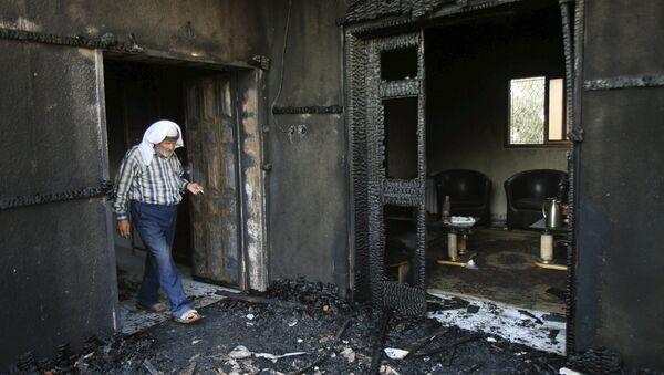Casa en el pueblo de Duma después de un ataque - Sputnik Mundo