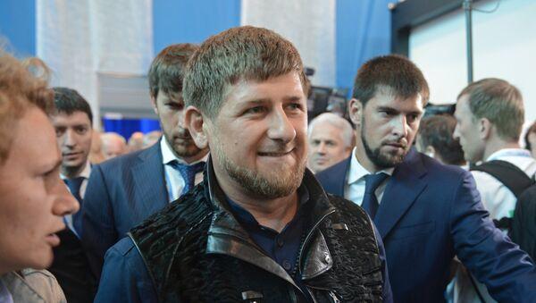 Ramzán Kadírov, líder de la República Chechena - Sputnik Mundo