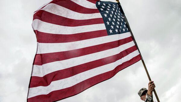Bandera de EEUU (archivo) - Sputnik Mundo
