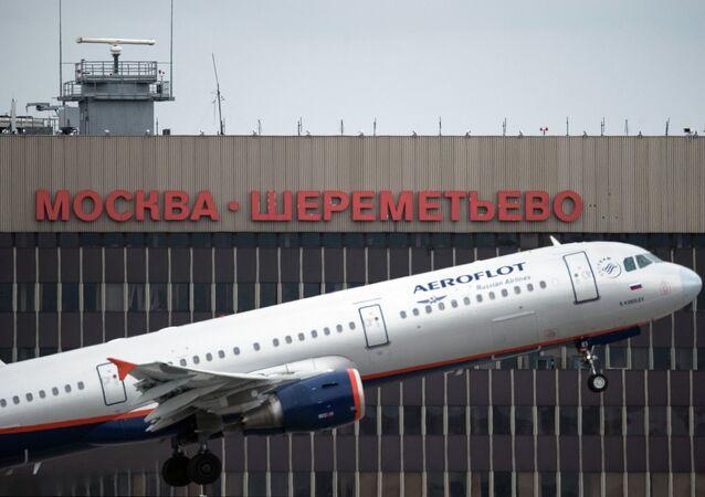 Aeropuerto moscovita de Sheremétievo