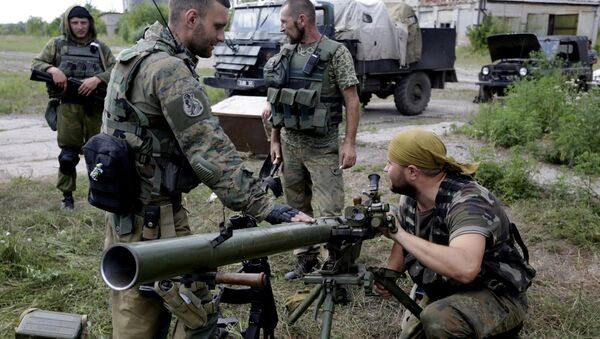 Militares ucranianos - Sputnik Mundo