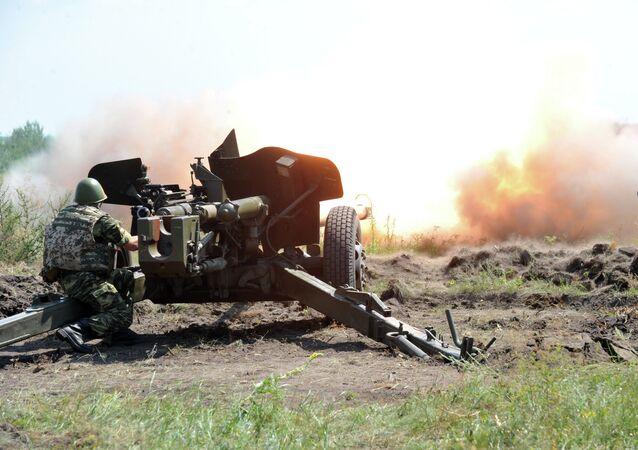 Kiev propone que las armas que apuntan a Donetsk sean las últimas en ser retiradas