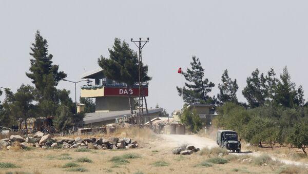 Frontera entre Siria y Turquía - Sputnik Mundo