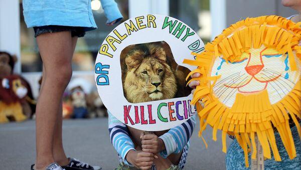 Zimbabue pide a EEUU la extradición del asesino del león Cecil - Sputnik Mundo