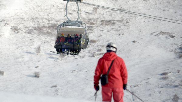 Esquiadores chinos - Sputnik Mundo