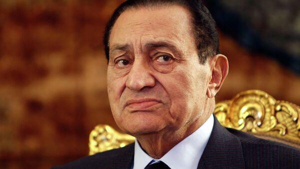Hosni Mubarak, expresidente de Egipto - Sputnik Mundo