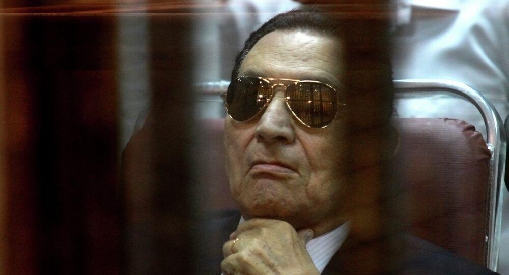 Hosni Mubarak, expresidente de Egipto