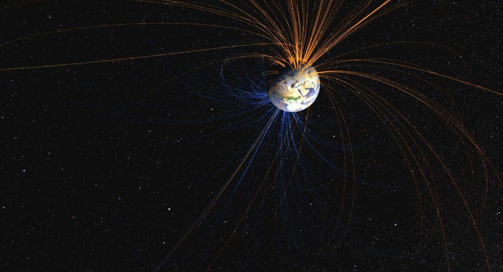 Сampo magnético de la Tierra
