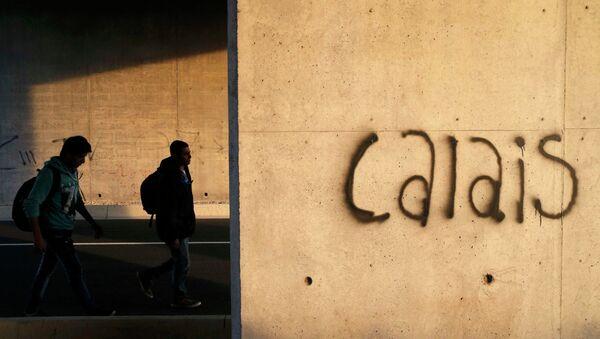 Situación en Calais - Sputnik Mundo