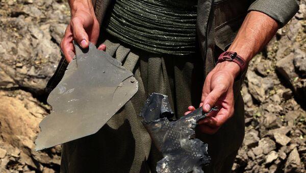 Consecuencias del bombardeo del Ejército turco contra los militantes de Partido de los Trabajadores del Kurdistán (PKK) - Sputnik Mundo