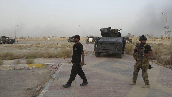 Fuerzas de seguridad iraquíes - Sputnik Mundo