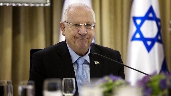 Reuven Rivlin, presidente israelí - Sputnik Mundo