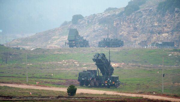 Sistema de misiles Patriot en Turquía - Sputnik Mundo
