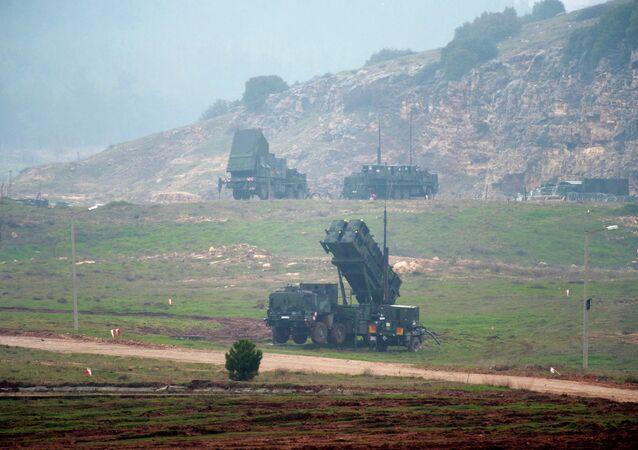 Sistema de misiles Patriot en Turquía