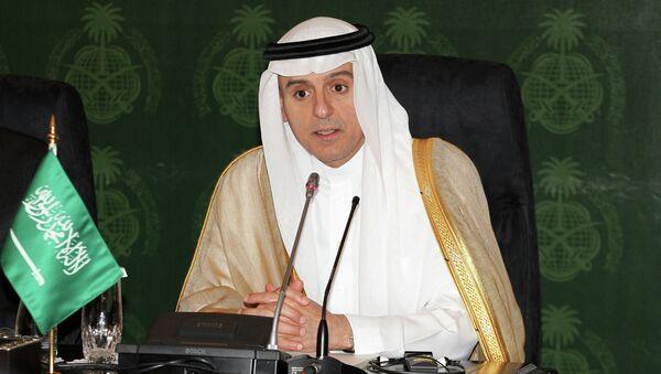 Adel al Jubeir, ministro de Asuntos Exteriores de Arabia Saudí - Sputnik Mundo