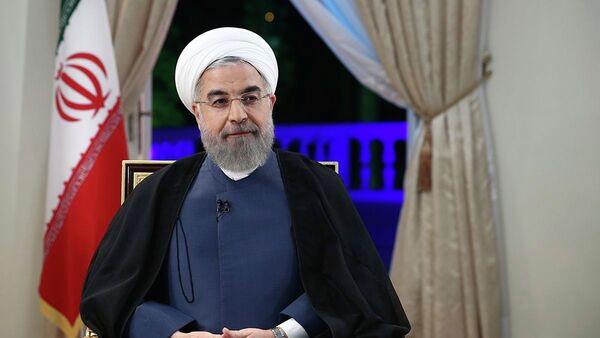 El presidente de Irán, Hasán Rohani - Sputnik Mundo