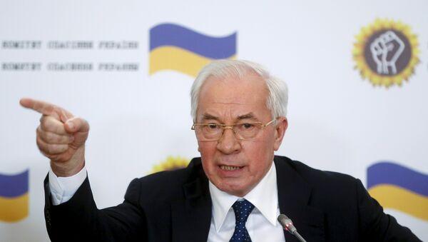 Nikolái Azárov, ex jefe de gobierno de Ucrania - Sputnik Mundo