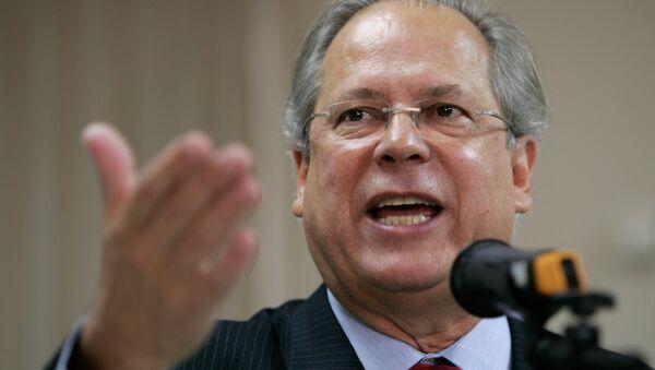 José Dirceu, exministro brasileño - Sputnik Mundo