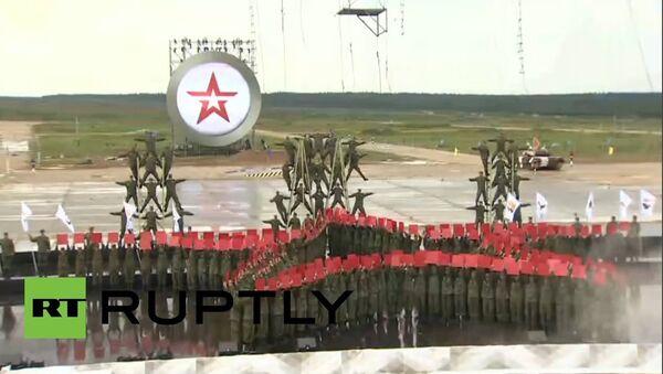Inauguración de Olimpiada Militar 2015 - Sputnik Mundo