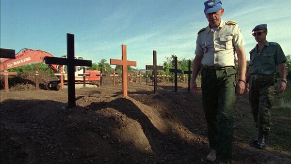 Cementerio de Knin en Croatia (archivo) - Sputnik Mundo