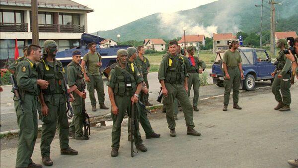 Militares croatas durante la Operación Tormenta - Sputnik Mundo