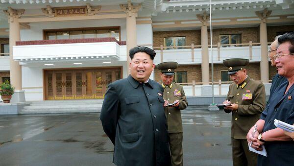 Líder norcoreano, Kim Jong-un - Sputnik Mundo