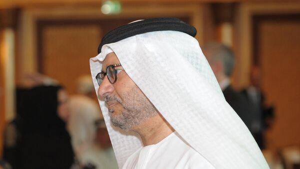Anwar Mohamed Gargash, ministro de Exteriores de los Emiratos Árabes Unidos - Sputnik Mundo