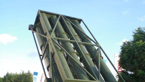 Un lanzacohetes de misiles Barak 8 - Sputnik Mundo