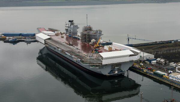 Portaaviones HMS Queen Elizabeth - Sputnik Mundo