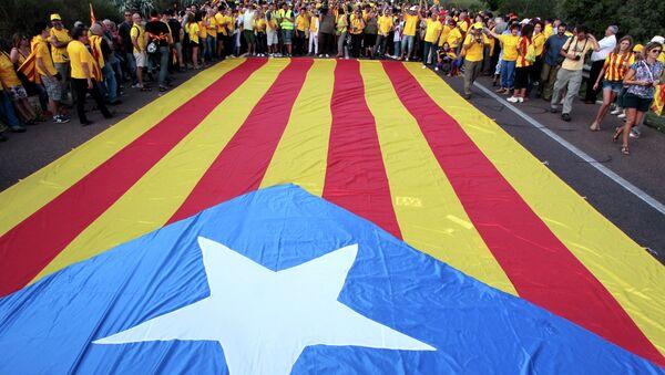Bandera independista de Cataluña (archivo) - Sputnik Mundo