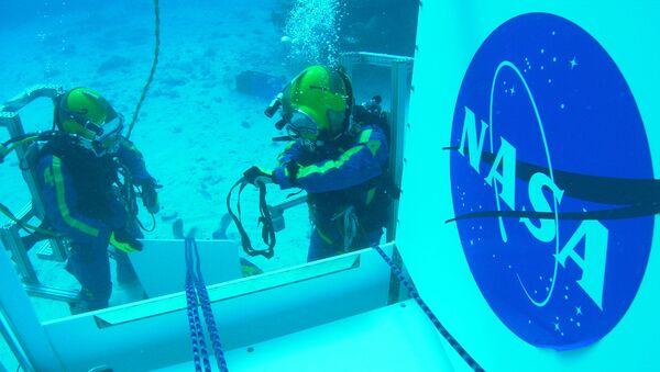 Laboratorio submarino Aquarius de EEUU - Sputnik Mundo