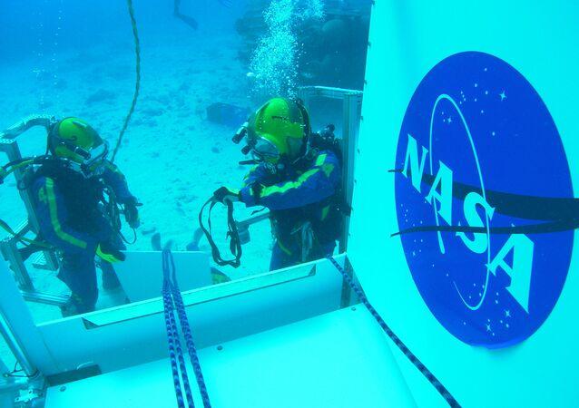 Laboratorio submarino Aquarius de EEUU