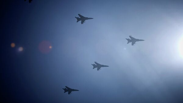 Cazas de la Fuerza Aérea de China - Sputnik Mundo
